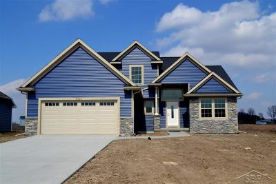 Saginaw Single Family Home For Sale: 5760 S Stone Briar