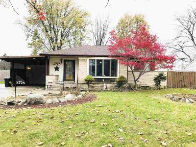 Saginaw Single Family Home For Sale: 2775 Wellesley Dr