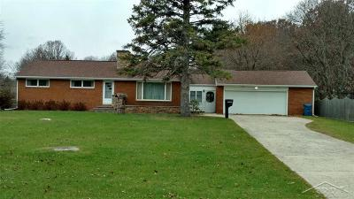 Midland Single Family Home For Sale: 2000 S Poseyville