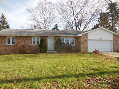 Bay City Single Family Home For Sale: 4491 Two Mile Rd