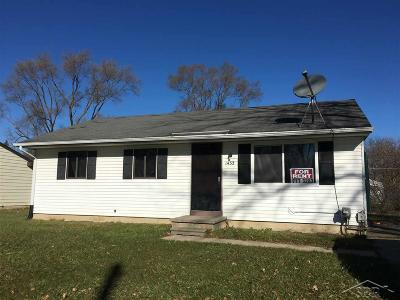 Saginaw Single Family Home For Sale: 1432 Mt. Vernon