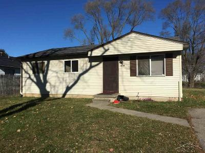 Saginaw Single Family Home For Sale: 1438 Mt. Vernon
