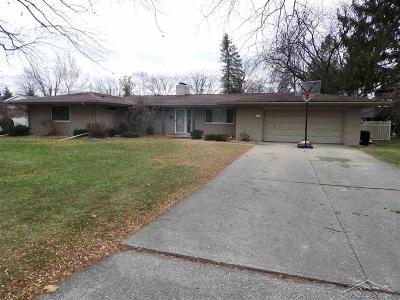 Saginaw MI Single Family Home For Sale: $149,900