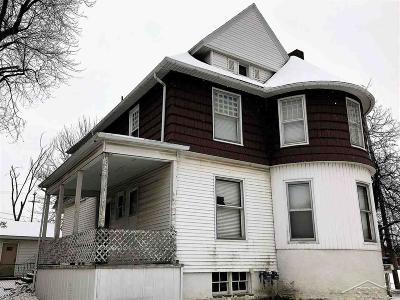 Saginaw MI Multi Family Home For Sale: $32,900