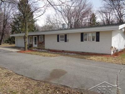 Saginaw Single Family Home For Sale: 4870 Mackinaw
