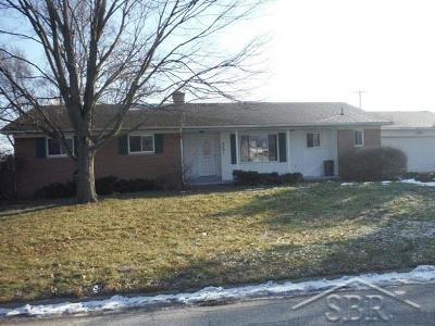 Bay City Single Family Home For Sale: 4491 Monterey Dr