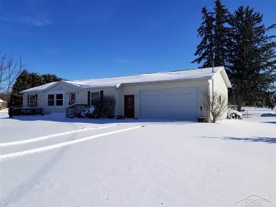 Saginaw Single Family Home For Sale: 1085 S River