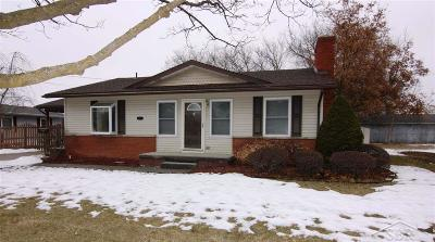 Saginaw MI Single Family Home For Sale: $74,900