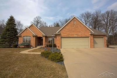 Saginaw Single Family Home For Sale: 3660 Prairie Creek Lane