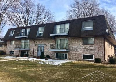 Saginaw MI Condo/Townhouse For Sale: $45,500