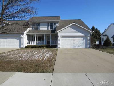 Saginaw Condo/Townhouse For Sale: 8916 N Brookshire