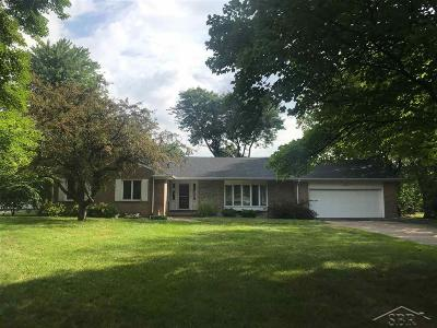 Saginaw MI Single Family Home For Sale: $169,900