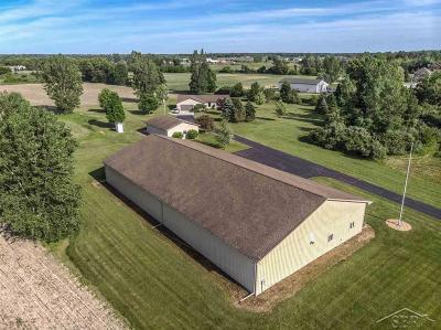 Freeland Single Family Home For Sale: 2030 N Graham