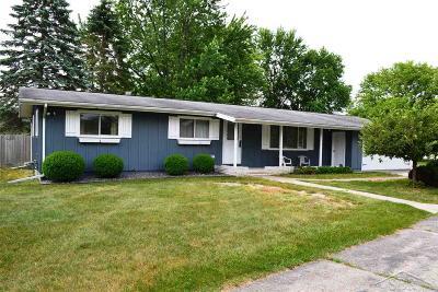 Saginaw MI Single Family Home For Sale: $114,900