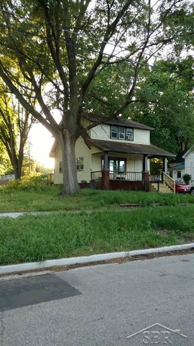 Saginaw MI Single Family Home For Sale: $26,900