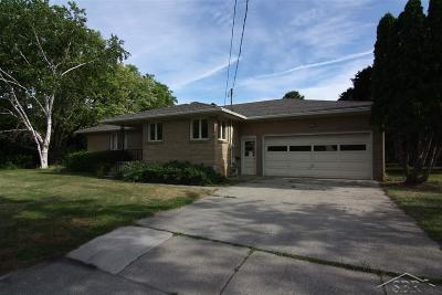 Bay City Single Family Home For Sale: 502 W Crump