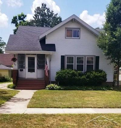 Saginaw Single Family Home For Sale: 1907 Adams Blvd