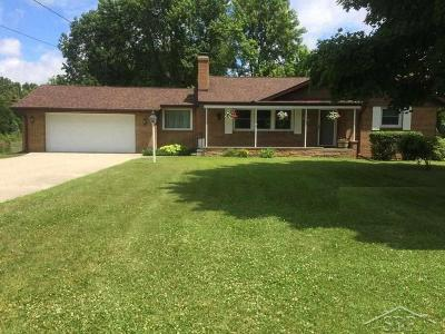 Saginaw MI Single Family Home For Sale: $139,900