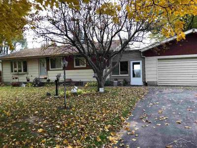 Bay City Single Family Home For Sale: 1872 Midland