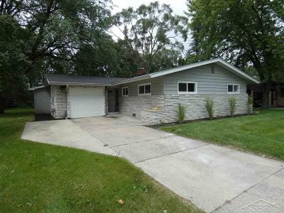 Saginaw Single Family Home For Sale: 3316 Northwood Place