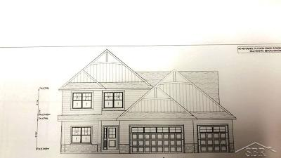 Freeland Single Family Home For Sale: 10533 Prairie View