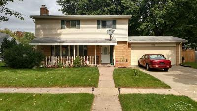 Bridgeport Single Family Home For Sale: 3521 Melody Ln.