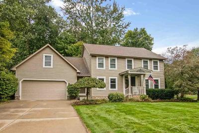 Freeland Single Family Home For Sale: 8630 Wandering Way