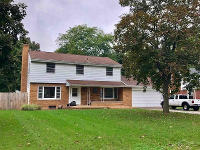 Saginaw MI Single Family Home For Sale: $134,900