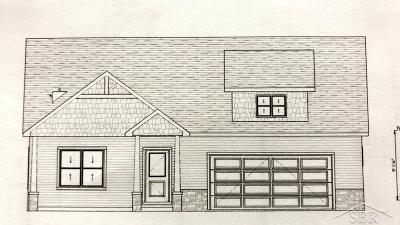 Freeland Single Family Home For Sale: 8553 Cottonwood