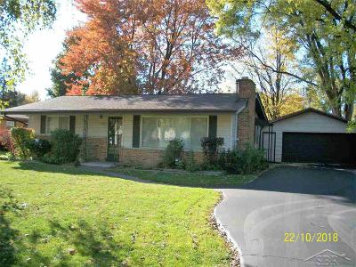 Saginaw Single Family Home For Sale: 3323 Kettering