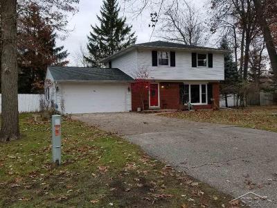 Saginaw MI Single Family Home For Sale: $154,900