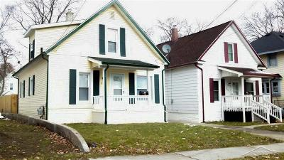 Saginaw Single Family Home For Sale: 806-810 State Street