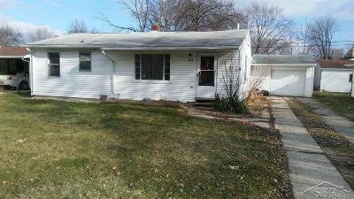 Saginaw Single Family Home For Sale: 1024 S 24th