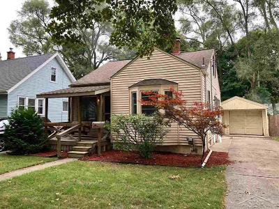 Saginaw MI Single Family Home For Sale: $44,000