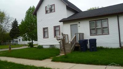 Bay City Single Family Home For Sale: 801 Fraser