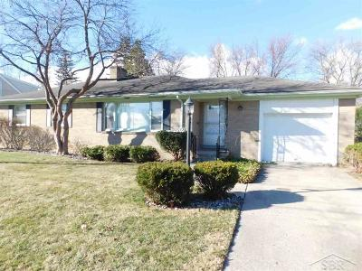 Saginaw Single Family Home For Sale: 2909 Rosemary
