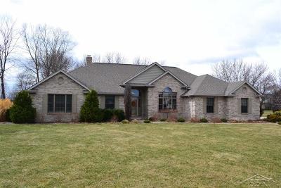 Saginaw Single Family Home For Sale: 4153 Autumn Ridge