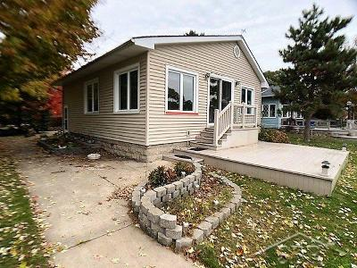 Bay City Single Family Home For Sale: 319 River