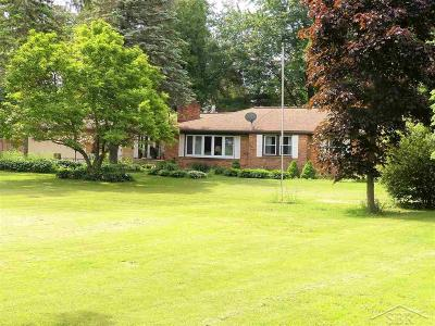 Saginaw Single Family Home For Sale: 8291 McCarty