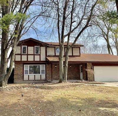 Saginaw MI Single Family Home For Sale: $129,900