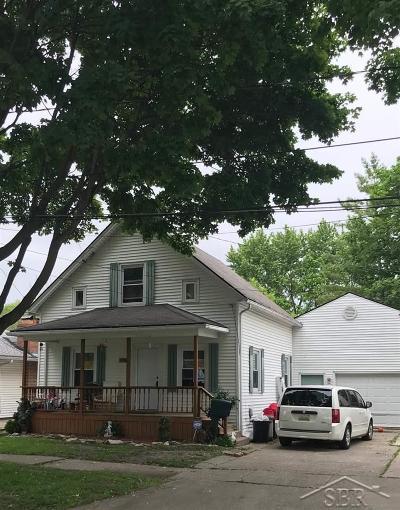 Saginaw MI Single Family Home For Sale: $51,900