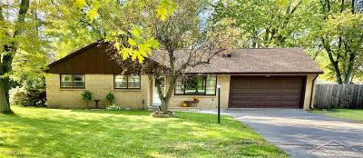 Saginaw Single Family Home For Sale: 1731 N Center