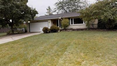 Saginaw Single Family Home For Sale: 2931 Krueger Pl