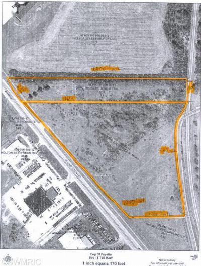 Branch County, Hillsdale County Residential Lots & Land For Sale: 3911 Carleton