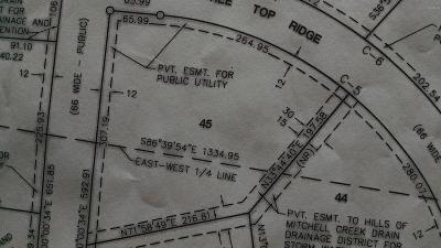 Big Rapids Residential Lots & Land For Sale: 45 Mitchell Creek Trail