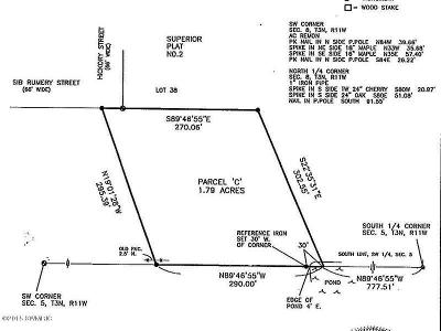 Wayland Residential Lots & Land For Sale: 412 Sib Rumery