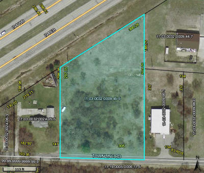 Benton Harbor Residential Lots & Land For Sale: Townline Road