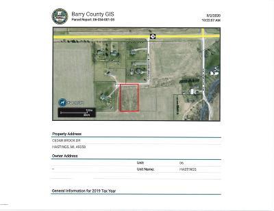 Hastings Residential Lots & Land For Sale: Cedar Brook Drive