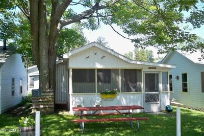 Ludington Single Family Home For Sale: 3181 N Lakeshore Drive #Canary/