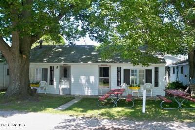 Ludington Single Family Home For Sale: 3181 N Lakeshore Drive #Martin/S
